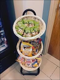 Snack Baskets Wicker Baskets Cross Merchandise Beverages And Snacks U2013 Fixtures