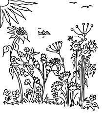 sunny garden coloring pages color luna
