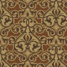 Outdoor Fabric Hampton Bay Cayenne Scroll Outdoor Fabric By The Yard Nd01600 D10