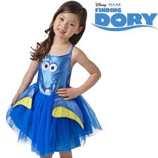 Halloween Costumes Girls Age 2 Kids Costume Disney Finding Dory Film Dress Tabard Age 2 6