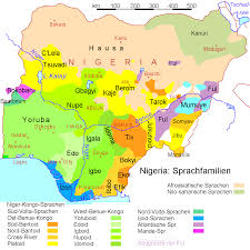 World Religions Map by Atlas Of Nigeria Wikimedia Commons
