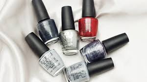 opi fifty shades of grey collection swatches and live