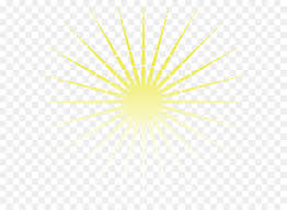 light yellow facula gold vector yellow sun rays png