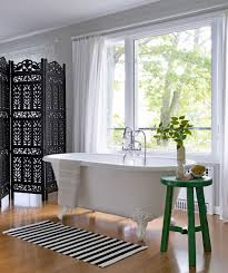 Bathroom Decor Ideas On A Budget Budget Friendly Ready Made Curtain Roundup Emily Henderson