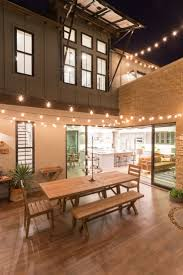 Patio String Lights Ideas by Best 25 Industrial Outdoor String Lights Ideas On Pinterest