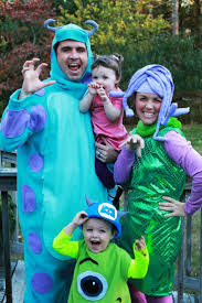 Family Halloween Costumes Ideas by Best 20 Monsters Inc Halloween Costumes Ideas On Pinterest Boo