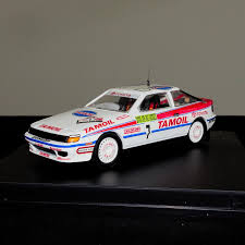 toyota rally car toyota celica gt4 tamoil japan rally car model 1992 scale 1 43