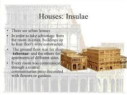 roman insula floor plan roman architecture