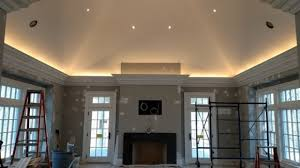 Crown Molding For Vaulted Ceiling by Pro Install Led Lighting Behind Flying Crown Molding The Joy Of