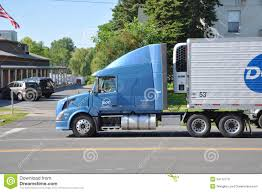 usa volvo trucks volvo vn 630 truck side view editorial stock image image 24112779