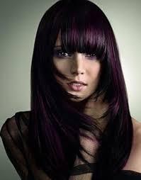 cute purple hair highlights for 2017 new hair color ideas