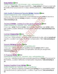 Freelance Resume Writing Jobs by Search For All Freelance Writing Jobs At Craigslist Org Online