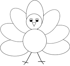 turkey black and white simple turkey clipart wikiclipart