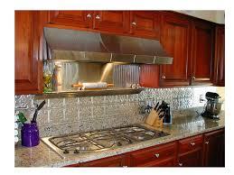 metal kitchen backsplash ideas fresh stainless steel backsplash panel kitchen backsplash