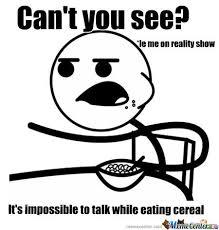 Meme Eating - cant talk while eating by skaterman247 meme center