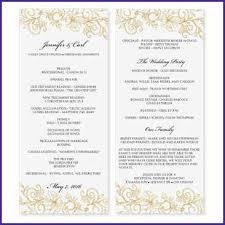 downloadable wedding program templates free downloadable wedding program template that can be printed