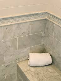 Marble Bathroom Tile Ideas Suzie Mitch Wise Design Subway Tiles Shower Surround Mosaic