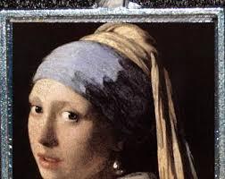 vermeer pearl necklace vermeer jewelry etsy