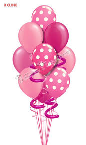 baloon bouquet jumbo twisty pink i just for balloon bouquet 10 balloons