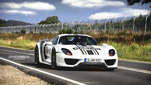 porsche 918 racing porsche 918 spyder w weissach package using black martini racing