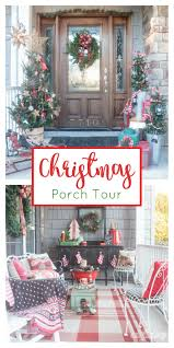 porch christmas porch decor ideas to kick off the holiday season