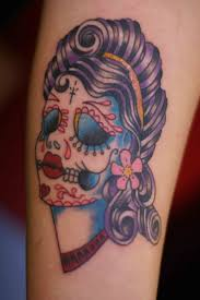 electrician tattoos gypsy sugar skull tattoo meaning best 25 sugar skull