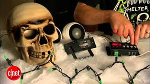 cnet how to animate scary props for halloween youtube