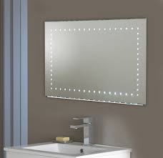 Bathroom Demister Mirrors Large Led Bathroom Mirror With Sensor And Demister El Kalamos