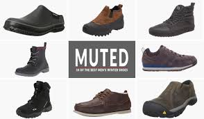 10 of the best mens winter shoes muted