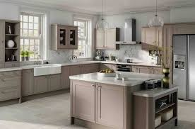 Kitchen Large Grey Kitchen Cabinet Ideas With White Wall Tricks - Light colored kitchen cabinets