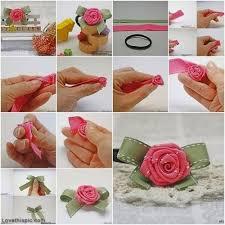 ribbon hair clip diy ribbon hair clip holder best diy baby shower gift