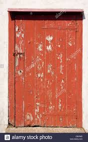 Red Door Paint by Red Door Weathered Old Paint Peel Latch Hinge Slats Planks Wooden