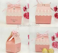 wedding candy boxes wholesale wholesale candy box buy sweet ribbon wedding favor