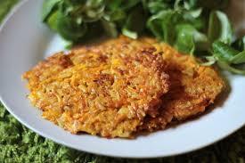 cuisiner patate douce poele galettes végétariennes de patates douces sans gluten et sans lait
