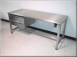 Work Bench Design Trends Stainless Steel Work Bench Home Designs