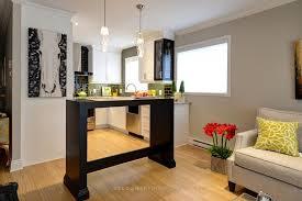 salon cuisine aire ouverte déco d une aire ouverte tout en élégance martine bourdon