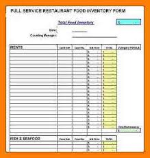 Restaurant Inventory Spreadsheet by 6 Restaurant Inventory Spreadsheet Coaching Resume