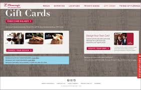 fleming s gift card flemings promotion lightning demo creating a steakhouse website