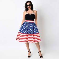 American Flag Corset Xaxbxc 002 New Summer Princess Bubble Skirt Old Glory