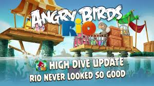 angry birds dive update angry birds rio