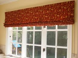 shade window treatments large window treatments roman shades