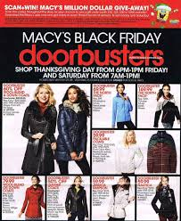 thanksgiving doorbusters 2014 macy u0027s black friday 2016 black friday 2017 ads