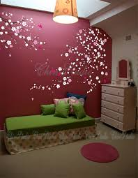 Tree Wall Murals 35 Wall Decals Etsy Tree Branch Cherry Blossom Wall Decal With By