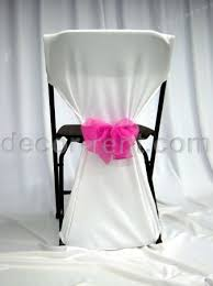 diy wedding chair covers diy chair covers for folding chairs how to make no sew