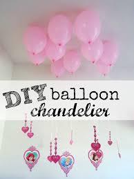 diy balloon chandelier easy party decor hello splendid
