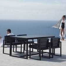 modern outdoor dining table gandia blasco mesa alta saler modern outdoor dining table stardust