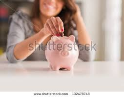 his and piggy bank piggy bank stock images royalty free images vectors