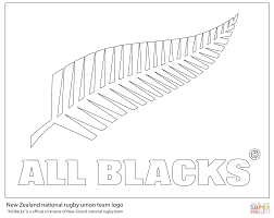 all blacks new zealand rugby team coloring page free printable