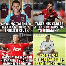 soccer memes chicharito s career reversed facebook