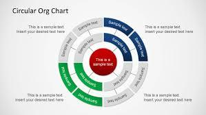 circular organizational chart powerpoint slidemodel